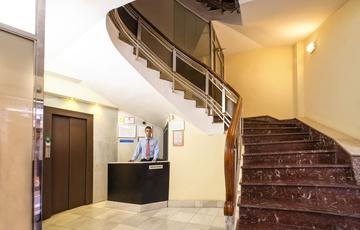 Reception Hotel Torreluz Centro